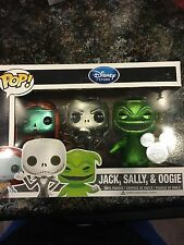Funko POP! Disney Store Jack Sally Oogie 2013 D23 Metallic Exclusive 500 pieces