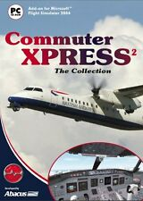 Commuter Xpress: The Collection Add-On for FS 2002/2004 (PC CD) NEW