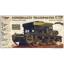 Mirage 72893 C7P Universal Transport Tractor, Russian Version. Scale 1:72 (PL)