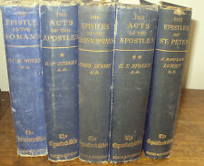 1896 - THE EXPOSITOR'S BIBLE - 5 volumes