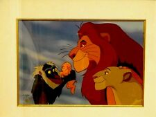 """Disney THE LION KING Cel CIRCLE OF LIFE""""Rare Publishers Proof Animation Art cell"""