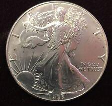 1986 AMERICAN EAGLE 1OZ. FINE SILVER ONE DOLLAR COIN
