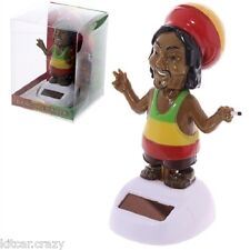 NOVELTY SOLAR POWERED DANCING RASTA, DASHBOARD TOY, HOME OR CAR