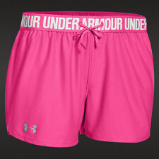 NWT Women's Medium Under Armour  Lightweight Play Up Pink Shorts 1264264