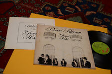PROCOL HARUM LP GRAND HOTEL ORIG ITALY 1973 GATEFOLD COVER+LIBRETTO