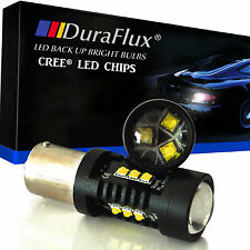 DuraFlux 1156 BA15S LED Backup Reverse Light Bulb CREE XB-D 80W Super White Lamp