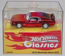 Hot Wheels American Classics 1970 Mustang Boss 429 Red (500 of 5000) 1:43