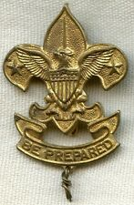 Very Early Boy Scouts of America 1st Class Scout Large Size Hat Badge