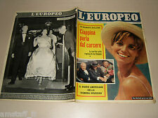 EUROPEO=1959/39=ELSA MARTINELLI=DOROTHY DANDRIDGE PORGY AND BESS=BARLETTA CROLLO