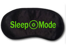 Sleep Mode Xbox One Silky Satin Embroidered Video Gamer Sleepwear Eye Mask