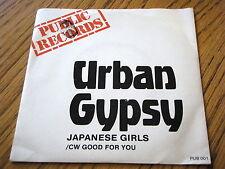 """URBAN GYPSY - JAPANESE GIRLS  7"""" VINYL PS"""