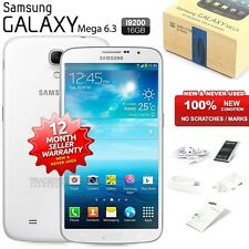 New Sealed Unlocked SAMSUNG Galaxy Mega I9200 White 4G LTE Android Mobile Phone