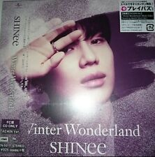 SHINee CD WINTER WONDERLAND TAEMIN ver. Fan club limited ver. JAPAN KPOP F/S