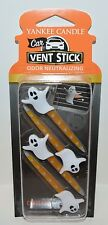 YANKEE CANDLE CANDY CORN GHOST CAR VENT STICK CLIP AIR FRESHENER PACK 4 PIECES