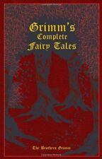 Grimm's Complete Fairy Tales by Jacob Grimm (Leather Bound) (English) BRAND NEW