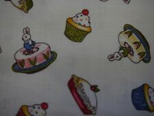 Paper Dolls Bakery Cakes by Penny Rose FQ or more 100% Cotton