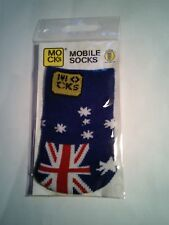 Mocks CALZINO COVER per Cellulare, mp3, iPhone Fotocamera OZ Aussie in Australia flag