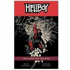 Hellboy, Vol. 12: The Storm and The Fury-ExLibrary