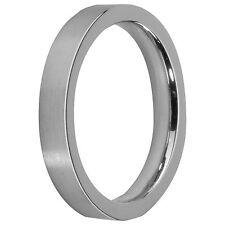 MelanO Vorsteckring Beisteckring 01R4993 SS Größe 57 matt schmaler Ring