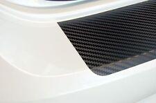 VW POLO V 6R 5Tuerer-Ladekantenschutz Carbon-Schutzfolie-Schwarz