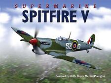 Super Marine Spitfire V Plane Fighter Jet Airplane Metal Sign