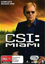 CSI MIAMI : SEASON 9 : NEW DVD