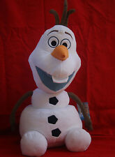 """Disney Frozen Plush Olaf Snowman Large Pillow Size Approx 23"""" Tall-  with Tags"""