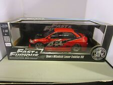 JADA 1/18 FAST AND FURIOUS RED SEAN'S MITSUBISHI LANCER EVOLUTION VIII IMPORT