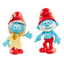 Smurfs The Lost Village 2 Figure Pack - Papa Smurf and Smurfwillow