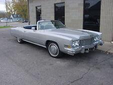 1974 Cadillac Eldorado Base Convertible 2-Door