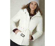 BNWT NEW LADIES TG BEIGE PADDED COAT SIZE 18 PARKA WINTER JACKET FUR HOODED 16