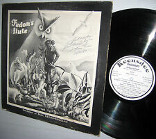 FEDON's FLUTE the dialect of PAUL KEENS-DOUGLAS keensdee LP AUTOGRAPHED cover
