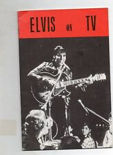 elvis presley magazine elvis on tv