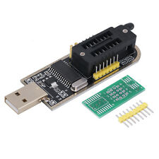 25 SPI Series 24 EEPROM CH341A BIOS Writer Routing LCD Flash USB Programmer UE
