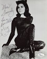 LEE MERIWETHER HAND SIGNED 8x10 PHOTO      VERY SEXY POSE AS CATWOMAN      JSA