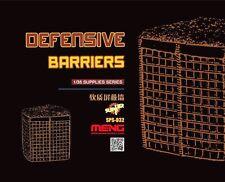 Meng 1:35 barriere difensive Kit Modellino in resina