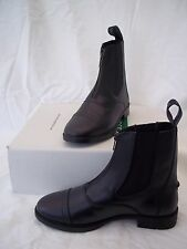 Children's Leather Horse Riding Paddock Boots Size 11 (30) - Black - was £43.99
