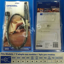 "DREMEL 225-01 36"" Flexible Flex Shaft Attachment Comfort Grip Hand Piece USA New"