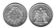 50 frs argent hercule