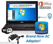 Dell Laptop Latitude Windows 7 ULT Microsoft OFFICE 2013 WiFi HD Picture 4 USB
