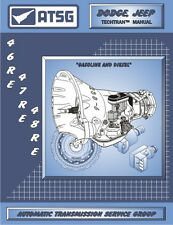 46RE 47RE 48RE ATSG Techtran Manual Rebuild Book Transmission Guide Dodge Mopar