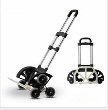 Push hand truck All-Terrain Stair Climbing Folding Cart for Moving up to 180LB