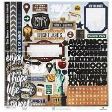 New York City scrapbook paper page set Vacation Travel Holiday 12 x12 kit NYC