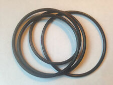 **NEW 2 DRIVE BELT SET** ELMO K-100SM  8mm Film Projector