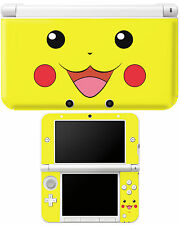 Pokemon Pikachu Nintendo 3DS XL Vinyl Skin Decal Cover Geeky/Gamer