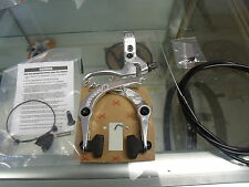 ODYSSEY SPRINGFIELD POLISHED BMX BICYCLE U-BRAKE LEVER AND CABLE KIT
