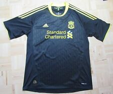 The Reds FC LIVERPOOL Third shirt  jersey by ADIDAS 2010-2011 Black men/ SIZE XL