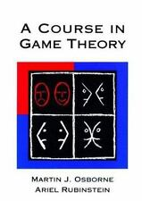 A Course in Game Theory MIT Press