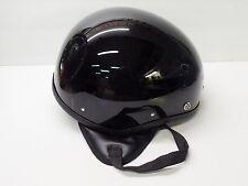 NOS Vintage Half  Helmet - L - Bowl Flat Board Track Racer Motorcycle Scooter