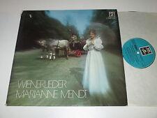 LP/MARIANNE MENDT/WIENERLIEDER/Emi 062-33130 *